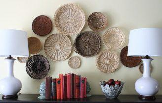 چندین روش جالب و ابتکاری برای استفاده از سبد در دکوراسیون منزل