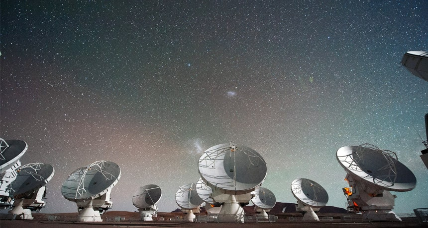 کشف یک کهکشان پر از ماده تاریک