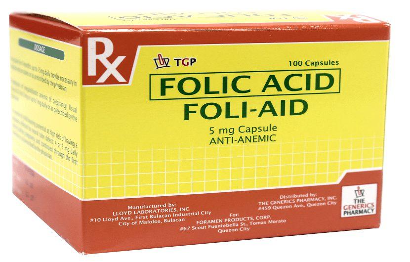 معرفی کامل داروی فولیک اسید (Folic Acid) برای درمان کم خونی