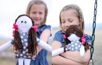 آموزش دوخت عروسک پارچهای ساده و دوست داشتنی به همراه الگو