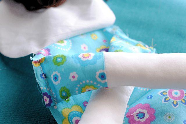 آموزش دوخت عروسک پارچهای