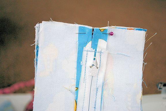 آموزش دوخت کوله پشتی مهد کودک