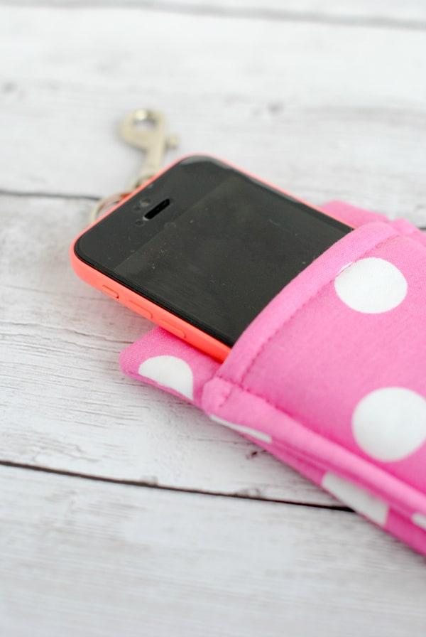 آموزش دوخت کیف موبایل