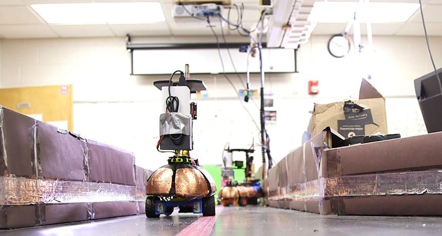 آموزش رباتها