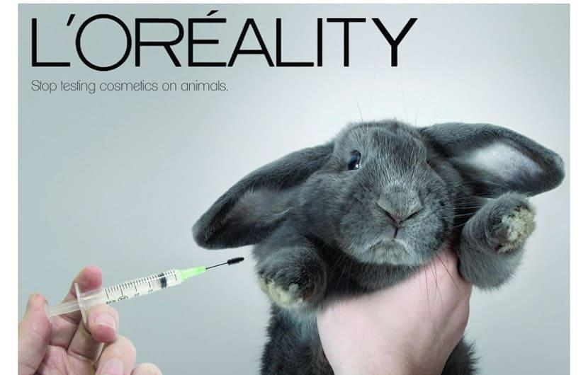 لوازم آرایشی تست شده روی حیوانات