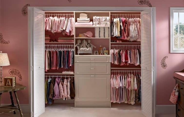 ترفندهایی هوشمندانه و موثر برای افزایش فضای کمد لباس و اتاق خواب