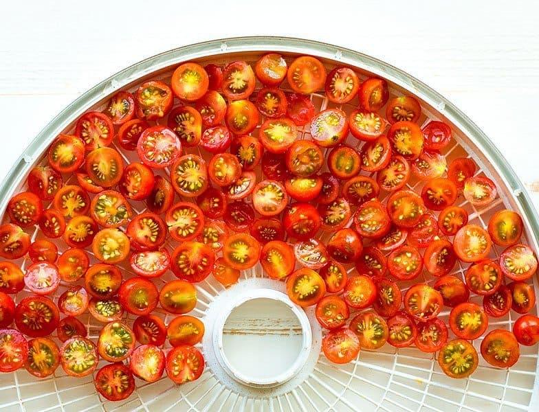 پودر گوجه خانگی