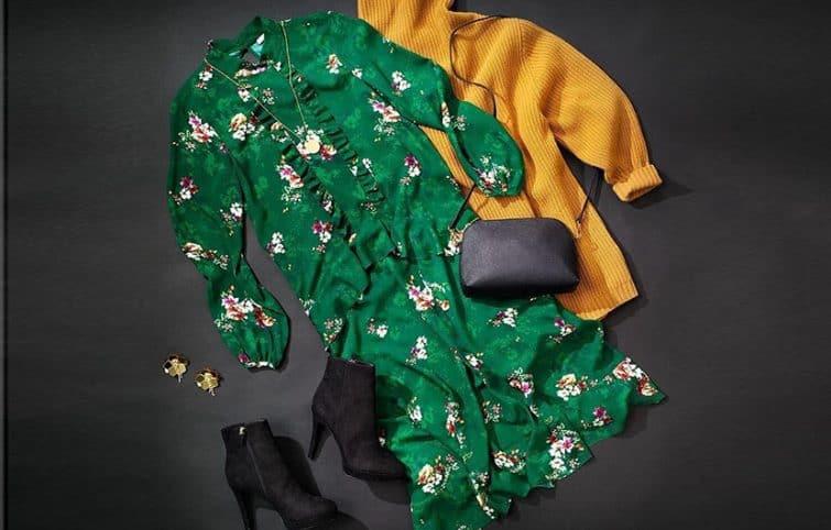 لباسهای گلدوزی شده و لباسهای گلدار زنانه را به این روش بپوشید