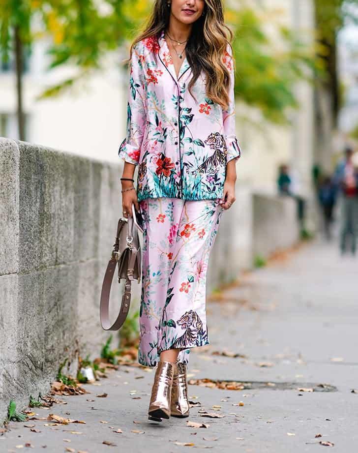 لباسهای گلدوزی شده و لباسهای گلدار زنانه