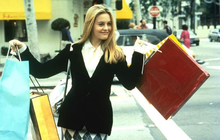 مدلهای لباس دهه ۹۰, شیک پوشی با الهام از فیلمهای محبوب قدیمی