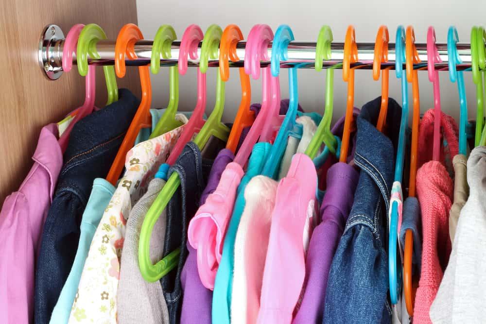 مرتب کردن لباسها