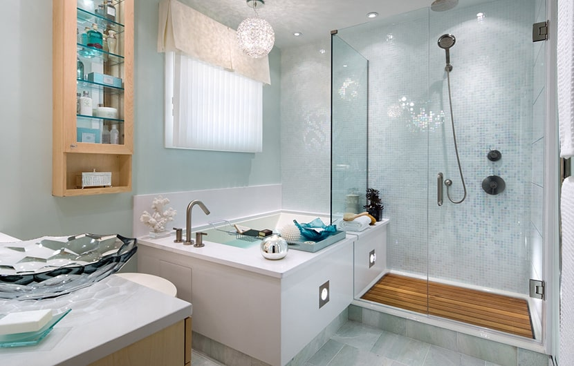 چند ترفند ساده برای به روز کردن و زیباتر کردن فضای حمام و دستشویی