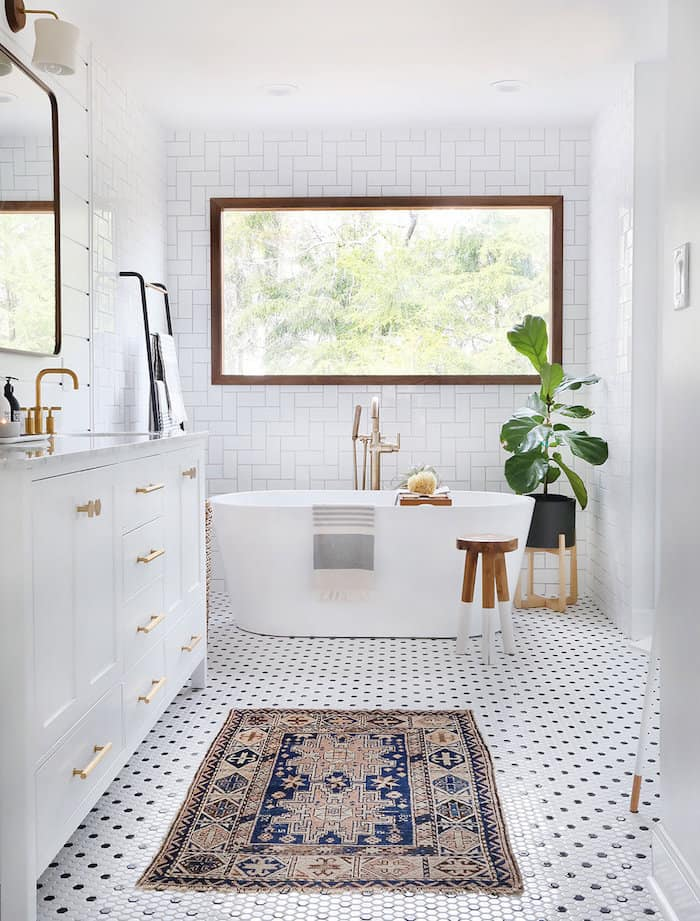 زیباتر کردن فضای حمام و دستشویی