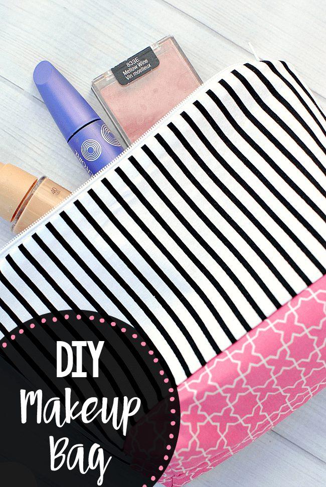 آموزش دوخت کیف آرایش ساده