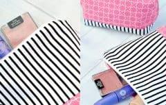 آموزش دوخت کیف آرایش ساده و زیبا بدون نیاز به مهارت خیاطی