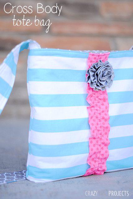 آموزش دوخت کیف دوشی دخترانه
