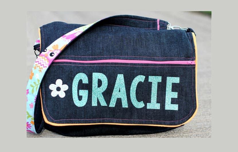 آموزش دوخت کیف دوشی کودکانه ساده و زیبا با استفاده از پارچههای اضافی