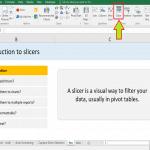 آموزش کاربردی اکسل – معرفی اسلایسر (Slicer) در نرم افزار اکسل