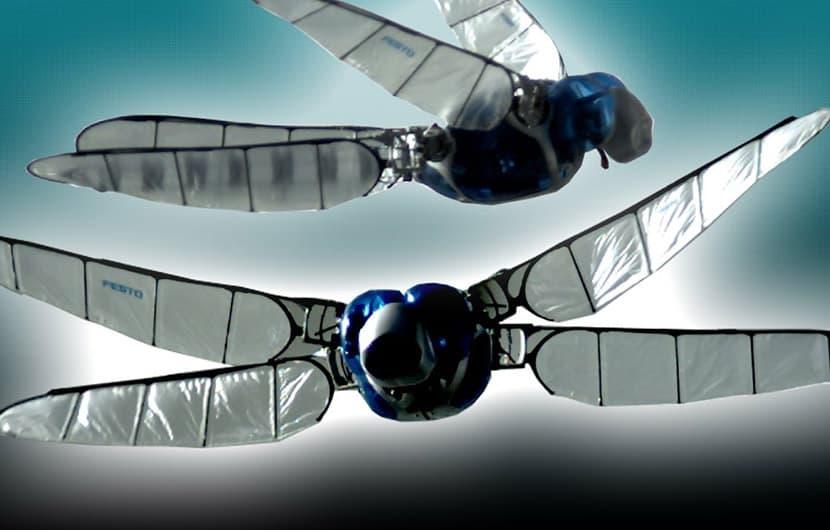 ربات پرنده ای که میتواند از دنیای سه بعدی حشرات پرده بردارد