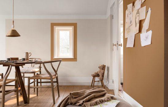 رنگ سال ۲۰۱۹ برای طراحی داخلی، یک رنگ پاییزی خنثی و تطبیق پذیر