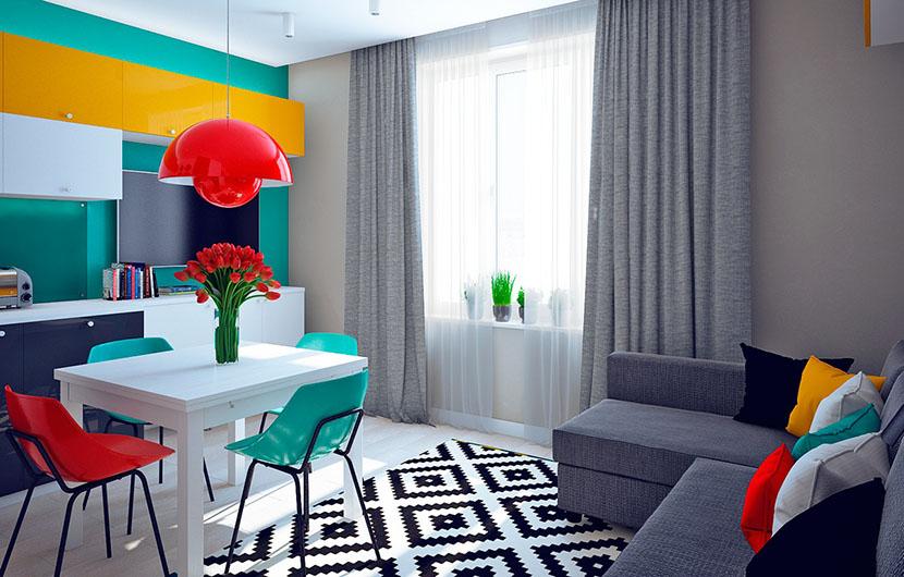 رنگهای شاد کننده و رنگهای غمگین کننده در طراحی دکور خانه را بشناسید