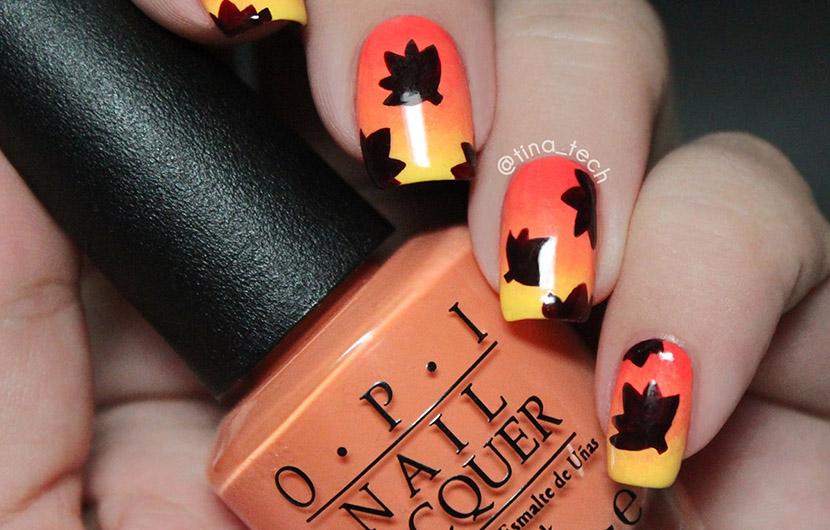 زیباترین مدلهای طراحی ناخن پاییزی برای آرایش ناخنهای شما