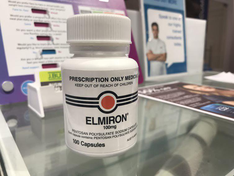 المیرون داروی ضد التهاب مثانه