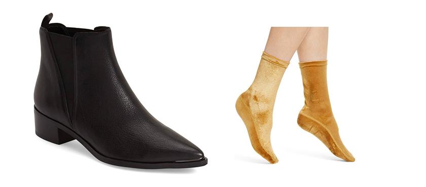 ترکیب صحیح جوراب و کفش