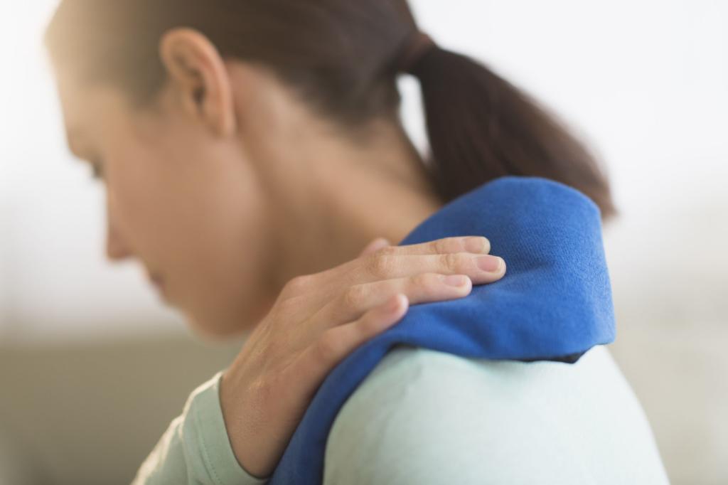 درمان بورسیت شانه