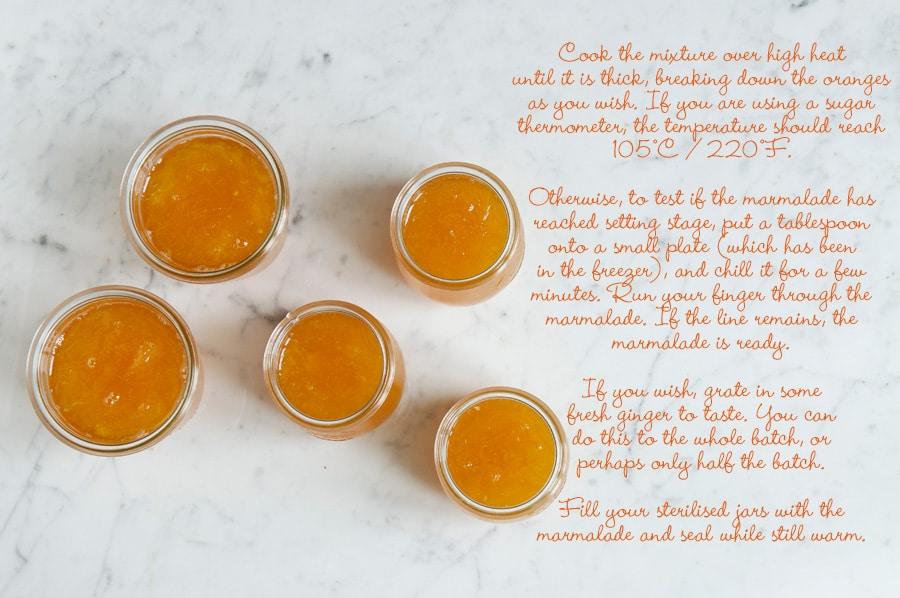 مربای پرتقال زنجبیلی