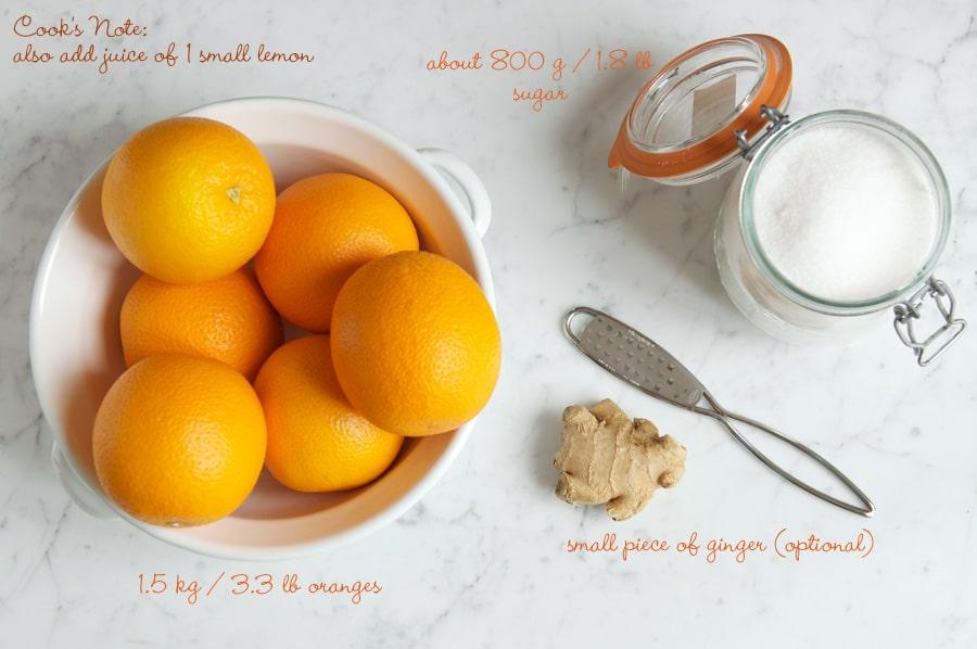 طرز تهیه مربای پرتقال خانگی