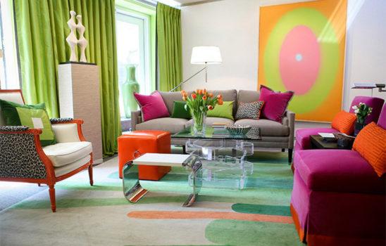 چطور بدون نقاشی کردن به اتاقهای منزل رنگ و روح ببخشیم؟