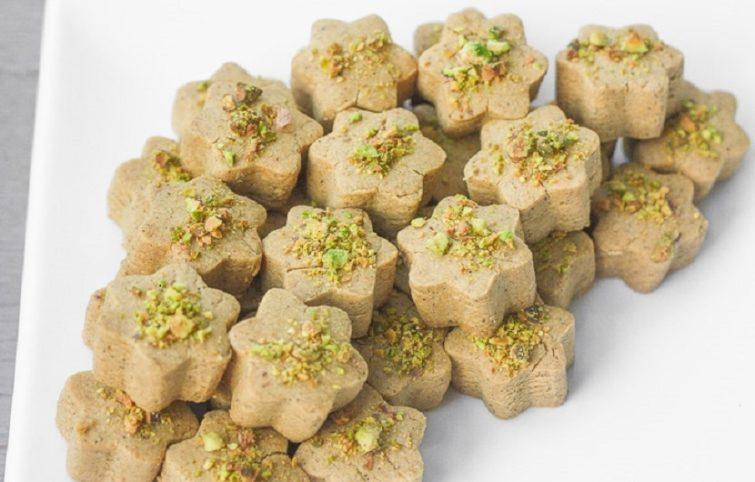 طرز تهیه شیرینی نخودچی (نان نخودچی) با طعم هل؛ بدون گلوتن و وگان