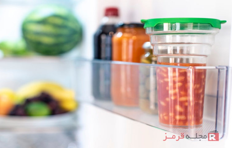 بهترین روش نگهداری باقیمانده غذا