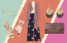 سه روش جذاب برای پوشیدن پیراهن ابریشمی دکمه دار زنانه