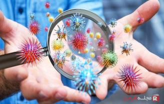 انتشار میکروبها