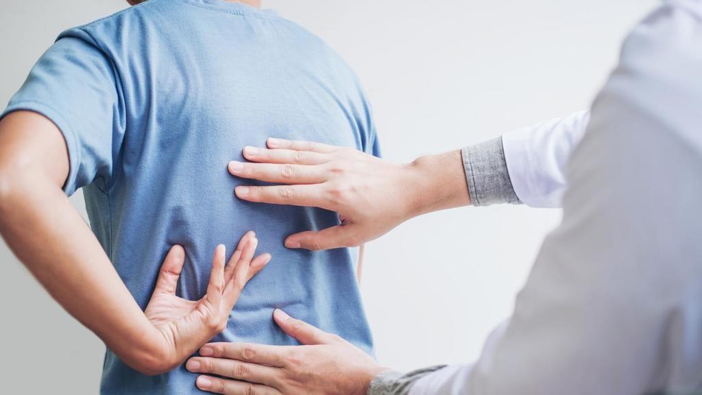 درمان عارضه کمر درد