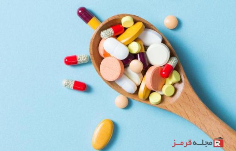 مصرف ویتامینها