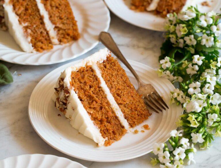 بهترین کیک هویج که میتوانید با موادی ساده در خانه درست کنید