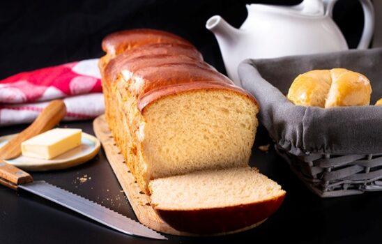 نان سفید خانگی به روشی آسان برای تهیه انواع ساندویچ و اسنک