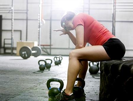 ورزش بیش از حد