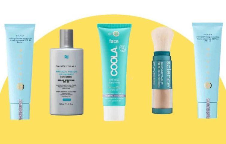 ضد آفتاب فیزیکی و شیمیایی هر کدام از چه فیلترهای UV استفاده میکنند؟