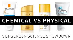 ضد آفتاب فیزیکی و شیمیایی
