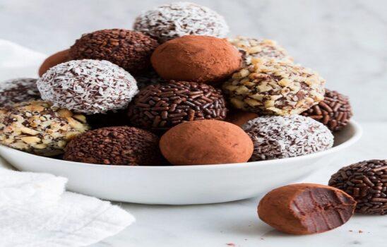 ترافل شکلاتی خوشمزه تقدیم به آنهایی که دوستشان داریم