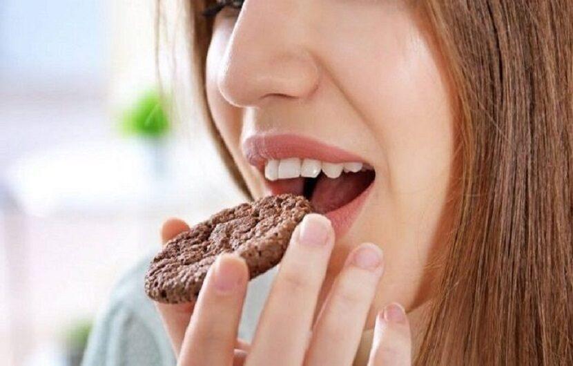مزه شیرین در دهان