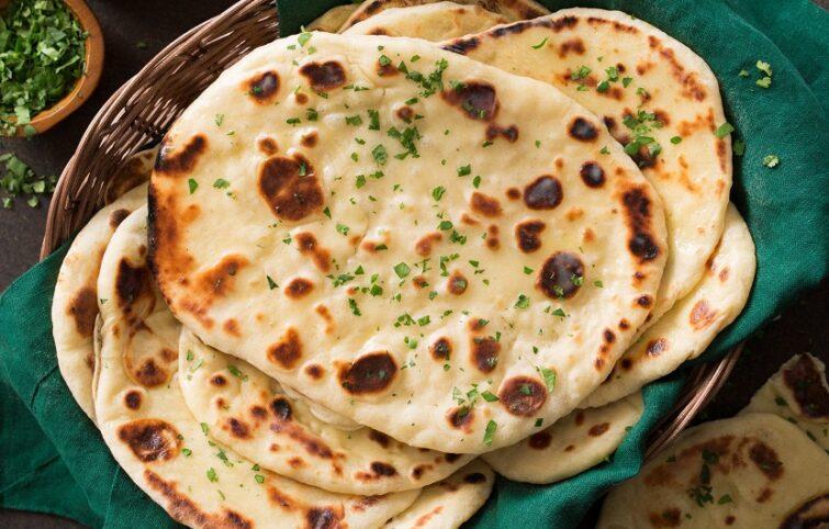 نان هندی خانگی ساده و آسان بدون نیاز به فر
